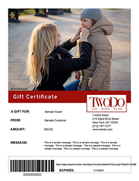 Mom Beautiful Hair Makeover Gift Certificate